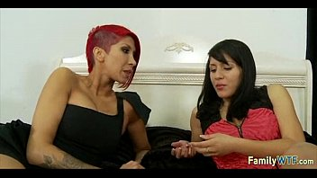 bus mother watched daughter fucked on Dominatrix annabelle strapon2