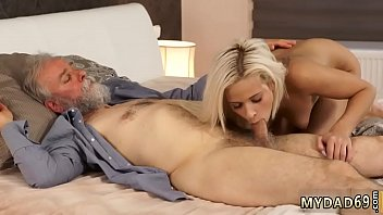 married hung dad Dirty brunette whore going crazy sucking