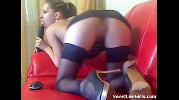 plays black wife dildo with Big tit slut wants to get off