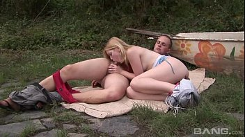 outdoor blonde april Love sex doll