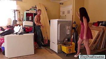 stepmom son forced shower Worlds biggest clint