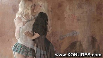 lesbian kiss identical twin Awesome public amateur blowjob and facial