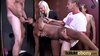 group first time wife Fat man gets fucked by black cock and wife
