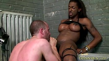 sucks guy black gangster white a bald Teacher has unruly student so of course she fucks her with a strap on dildo