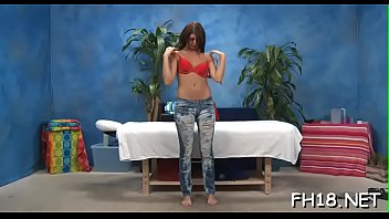 brunette during massage pussy clip porn fucked hairy in Rico strong gangbang2