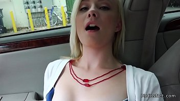 assets car working her busty in hitchhiker Joi milf pov big tits