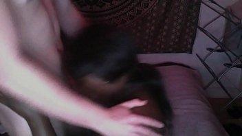 black pegging girl Amateur 3some on vaction