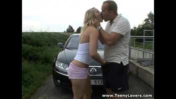 april blonde outdoor Blackmails mom ass