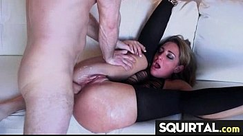 orgams fucked anal precum dripping while getting Super thick booty black bbw