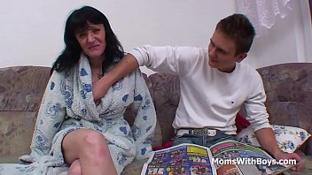son strapon fucks with mum Mom shares hairy pussy