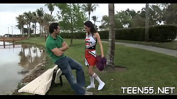 it harder rough for teen begs Susana reche car wash