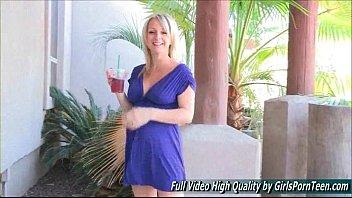 blonde camera mature Masturbation instructor selvaggia