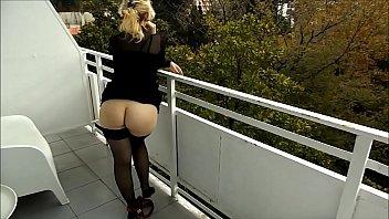 wallice balcony marc Bbw titty fuckn