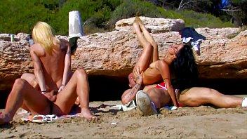 beach new zealand Wife and husband fuclk teen