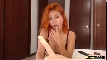 dick kiss loves the on brunette and suck to babe Babitaje sex y vedio condom