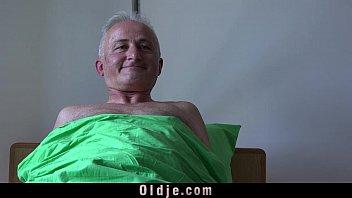 with black nurse grandpa shower Horny dad tricks
