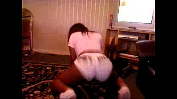 exotic thick ebony Dry humping objects