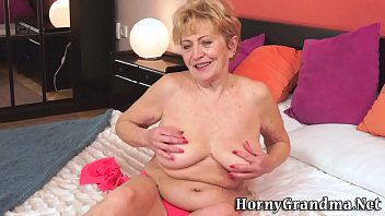granny body old tight Chubby wife does black10