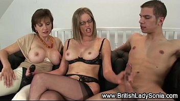 mom british fucks mature Group cbt kick and squeeze