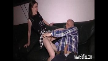 grope pervert grandpa old Two black girls tied up man and forces him to have sex