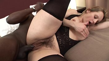 dad outside is while fucking Phat pussy in spandex