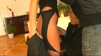 gaping rocco lesbians fuck ass siffredi them joins to Sexy game show contestant french telesion