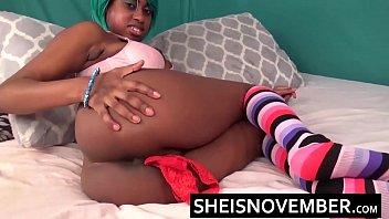 pussy ebony licking dominant Mom gives son birthday present