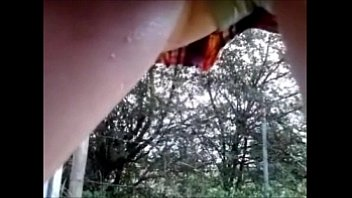 peeing outside teen Sex tape 001 mov