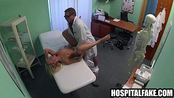babe driver fucked amateur gets pussy brunette by fake Russian tricky masseur