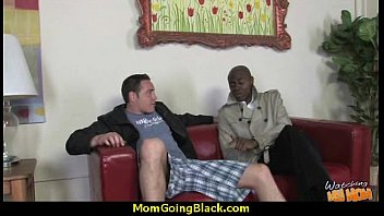 cirl cock and blond black Luana oliver plays with small tits and big cock