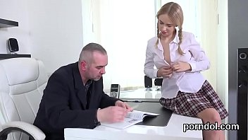 abused schoolgirl german in uniform teacher We love bukake