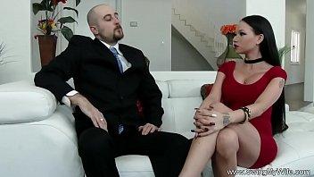 guy wife fucks chubby another Paja con lastetas