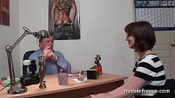 pale chubby fuck pretty brunette Son fuck mom she is squirting
