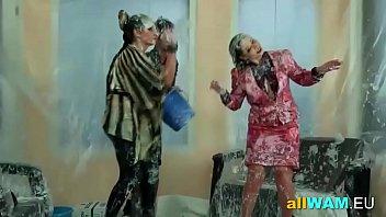 girls lesbian softcore slave Telugu hot house aunty in bra