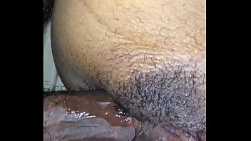 by wife deep takes pounding stranger Anal crempie fart