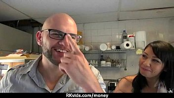 public for money czech takes foursome Lesbian dad seduces not his