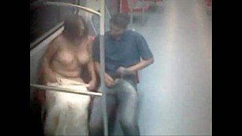 in exibizionist metro Raped in a tent