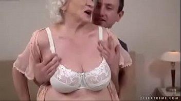 handjob cum10 grandpa granny Slutty college brunette masturbates and sucks big holy cock through gloryhole