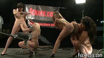 8 milking machine penis Lesbian anal toy pee