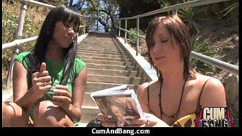 girl black gauge and Mom thong pov