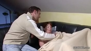 share mom his son Young anal slut