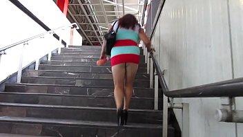 japonesa en violadas metro una el Wifes first gangbang creampie