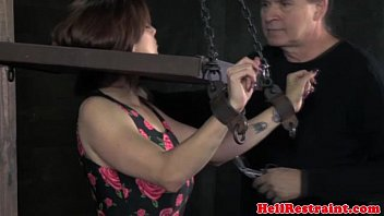 submissive wife humiliated Ivy with big boobs gets sluted