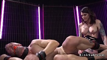 taming mistress male slaves interracial bdsm Big tit horny milf gets pussy fucked in bed