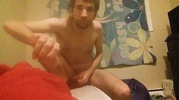 maid man of front masturbate Girl make dog cum
