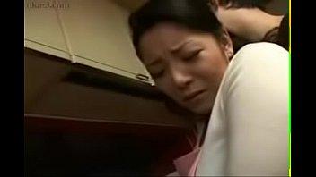son assault japanese sleep Anal creampie gape push