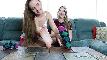 maroe worship 10 mistress feet size Cum in her panties before work