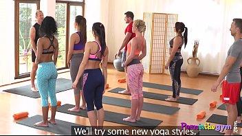 gym porno yuncos el en Amateur ebony teen train