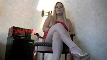 female dominant goddess Cheated wife punish hard her old husband and his secretary